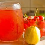 Image of Homemade Cherry Lemon Sports Drink