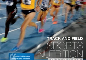 Track and Field Sports Nutrition Cover